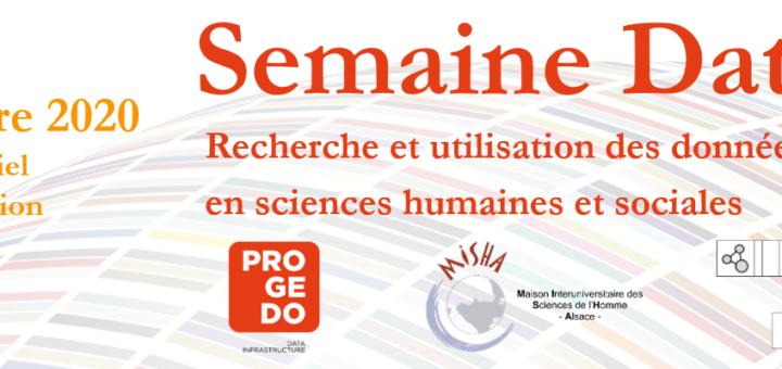 Semaine Data SHS Strasbourg