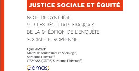 couverture Note de synthèse ESS9